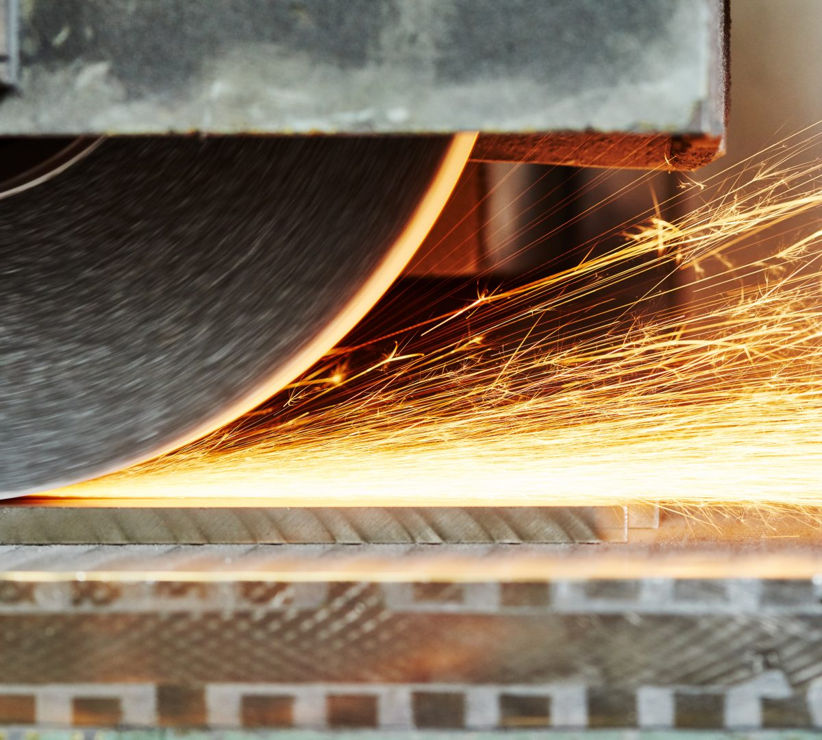 Surface grinding banner