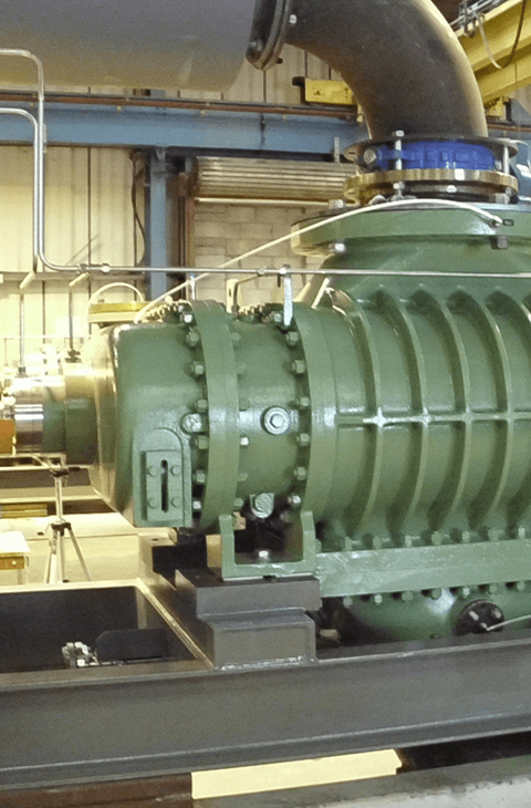 Rotary-lobe compressor industries driver