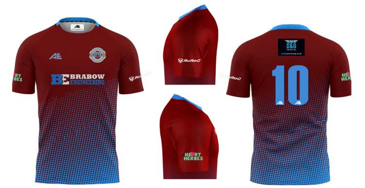 Tuffley Youth Football Club Kit 2